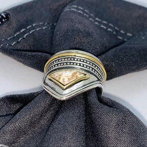 NWT Silpada R3478 Sterling Silver Howlite Ring